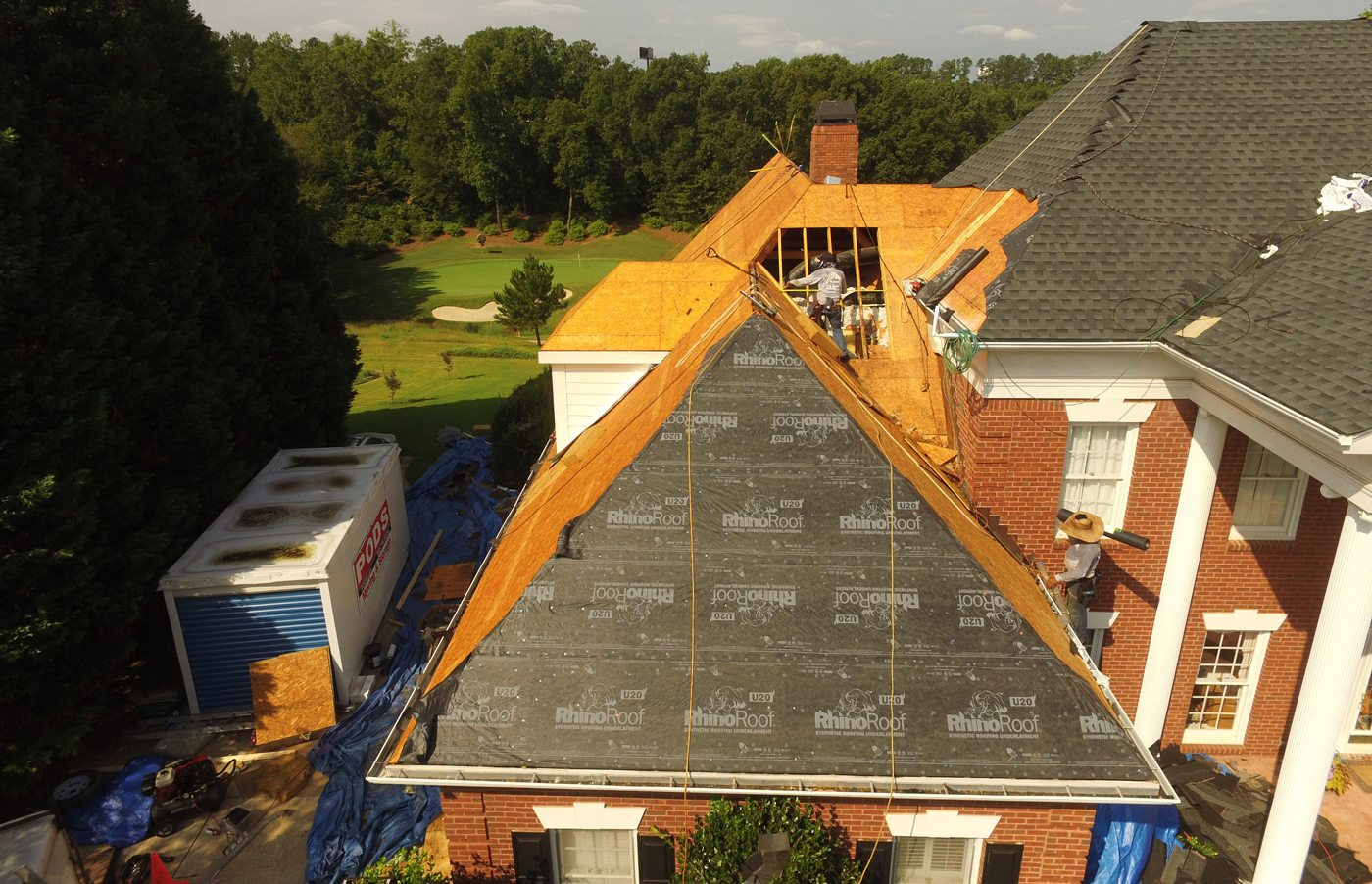 New roofing system in Georgia