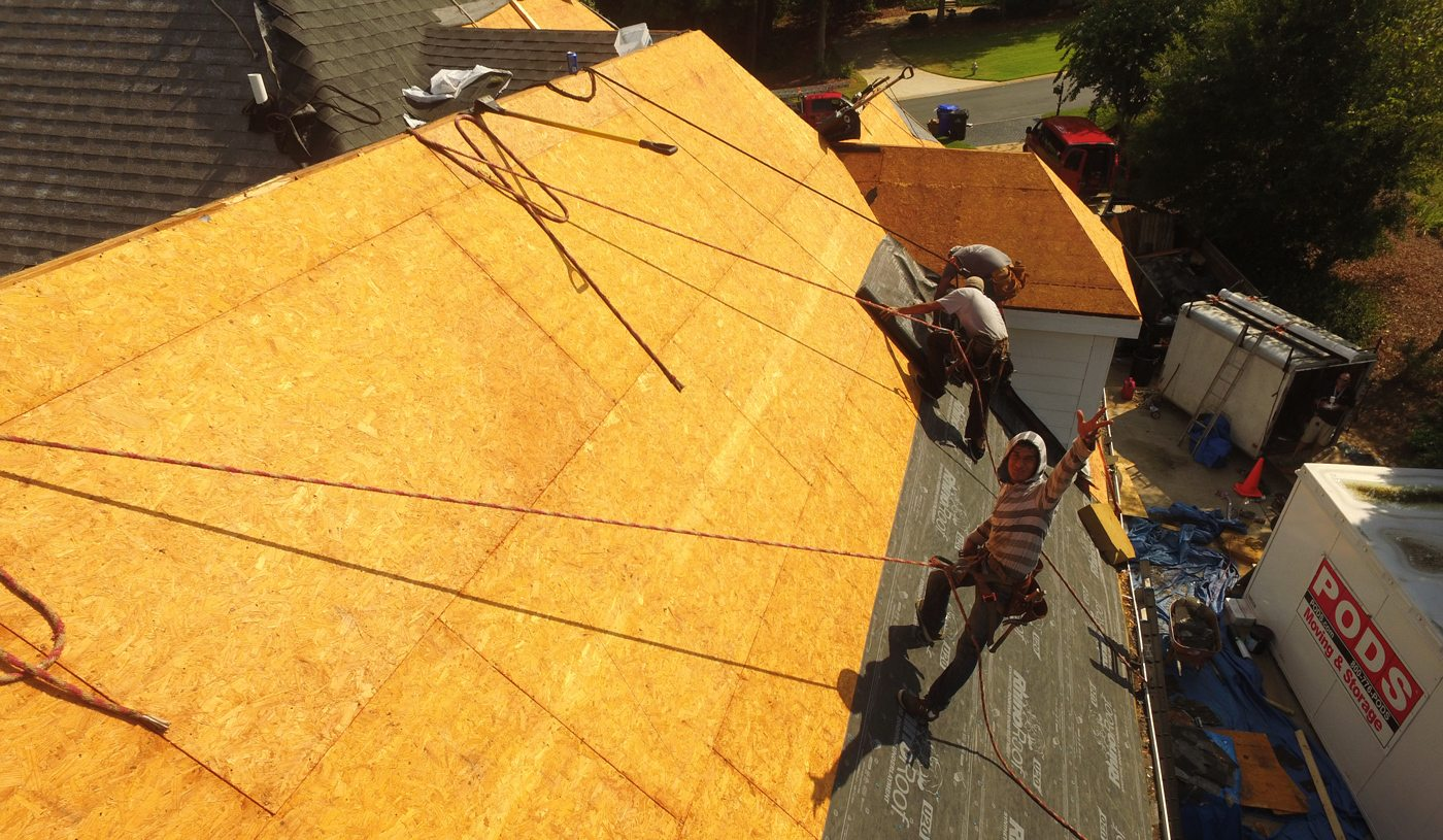 Professional roofing replacement in Georgia