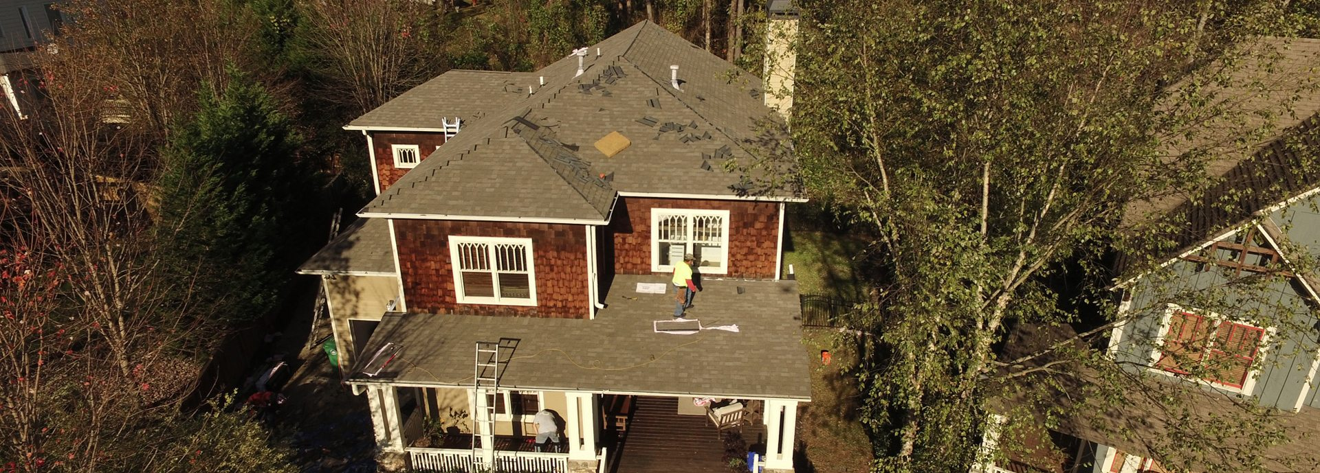 Roofing company Georgia and South Carolina